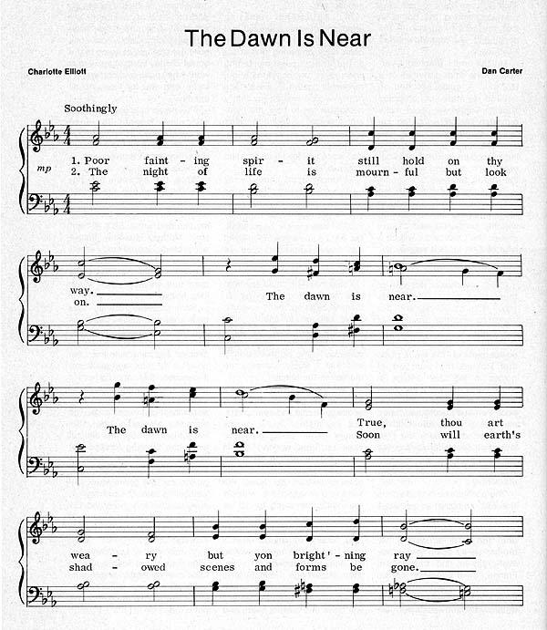 Music, The Dawn Is Near