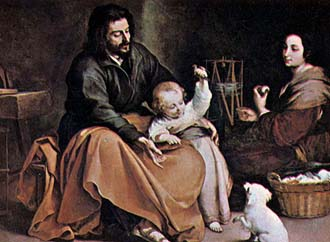 Christ as a young child