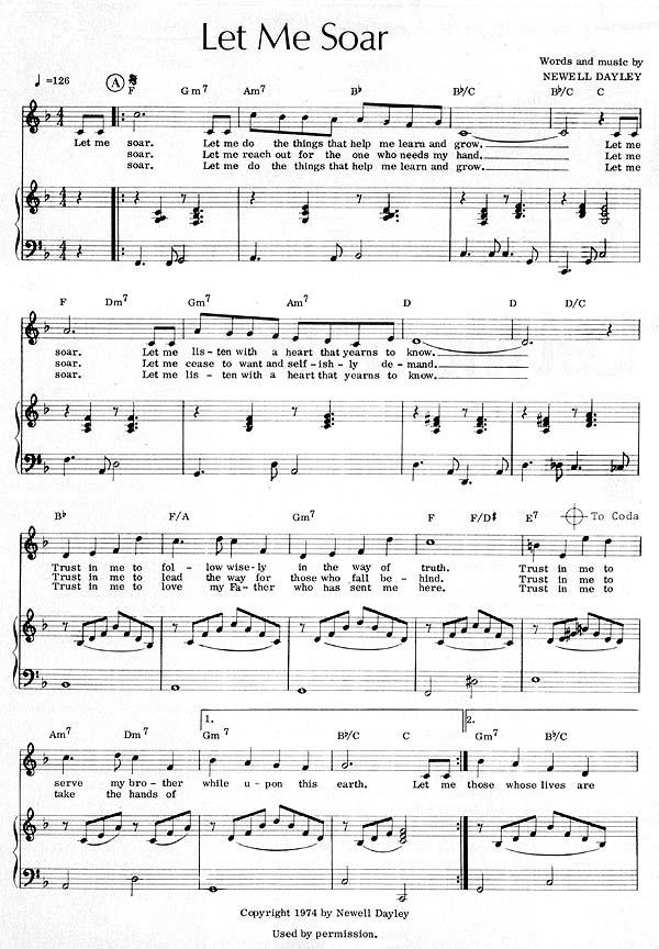 Music, Let Me Soar