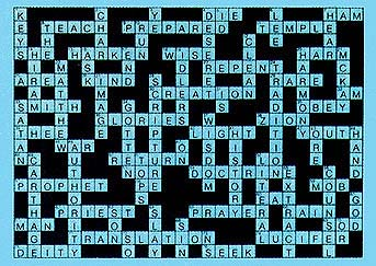 Crossword puzzle answer