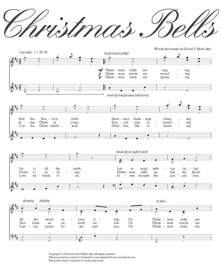 Christmas Song Church Bells Ringing
