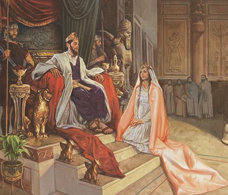 Resultado de imagem para A rainha Ester lds