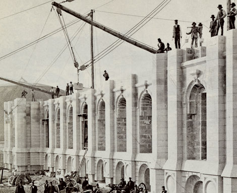 construction of Salt Lake Temple