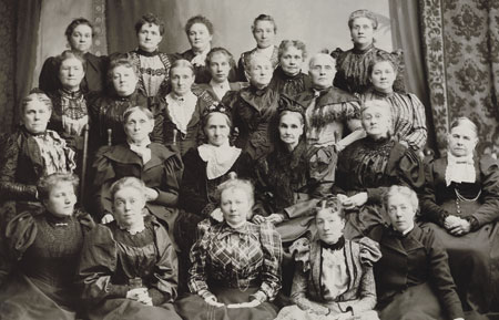 gathering of Latter-day Saint women