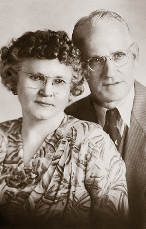 John und Nellie Hunter