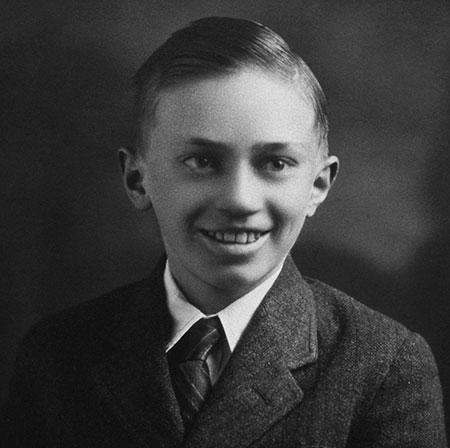 el joven Gordon B. Hinckley