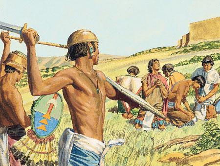 Lamanite battle