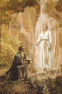 Joseph Smith Receives the Gold Plates