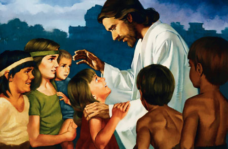 Christ Blessing the Nephite Children
