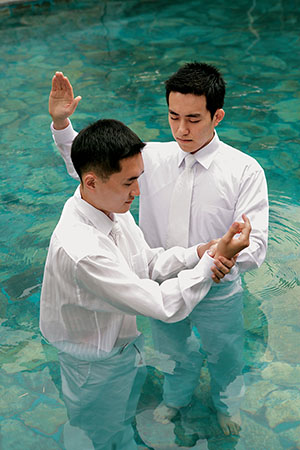 Water baptism in the book of acts