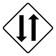 two-way sign