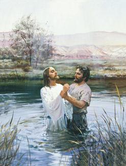 Chirst's baptism