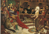 Abinadi before King Noah