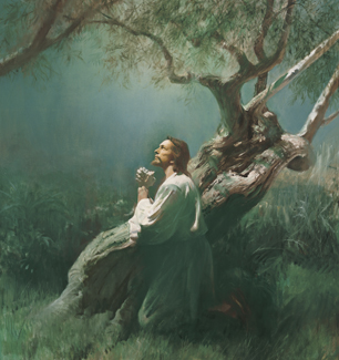 Jesus Praying in Gethsemane