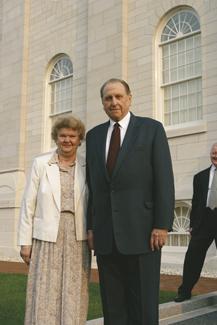 President Thomas S. Monson and Sister Monson