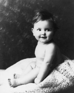 Thomas S. Monson as baby