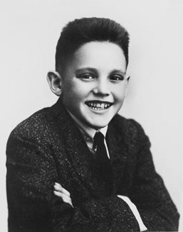 Howard W. Hunter, age 12
