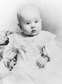 Ezra Taft Benson as baby
