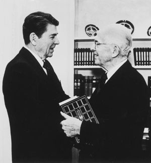 President Benson and President Reagan