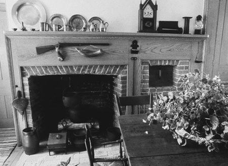 Brigham Young fireplace