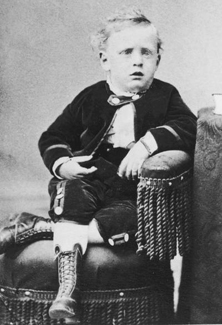 George Albert Smith as child