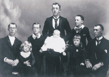 John Henry and Sarah Farr Smith family