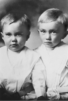 Gordon B. and Sherman Hinckley as boys