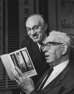 Gordon B. Hinckley and Joseph Fielding Smith