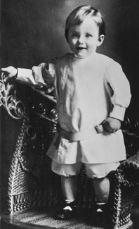 Howard W. Hunter, age 2
