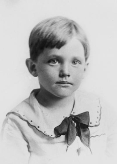 Howard W. Hunter, age 5