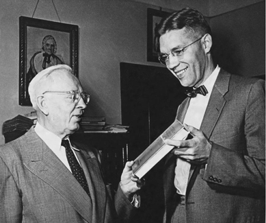 President Smith and Elder McConkie