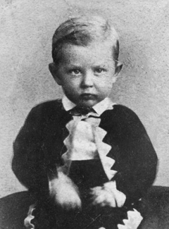 Joseph Fielding Smith as boy