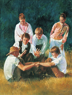 Image result for joseph smith and children