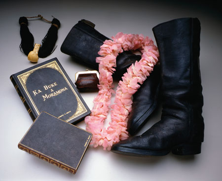 Book of Mormon and boots