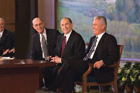 First Presidency at news conference