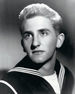 Thomas S. Monson in naval uniform