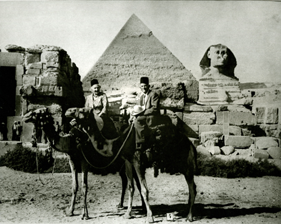 Elder and Sister Kimball in Egypt