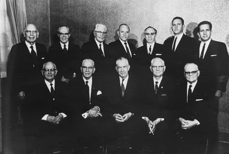 Quorum of the Twelve Apostles, 1970