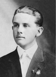 Spencer W. Kimball as young man