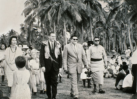 Elder Monson in South Pacific