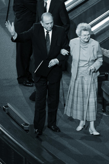 Thomas and Frances Monson