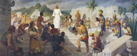 Jesus Teaching in the Western Hemisphere
