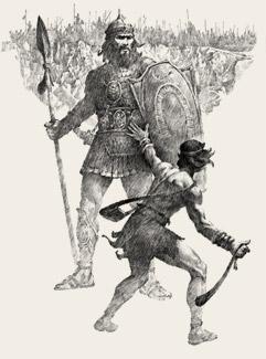David abd Goliath