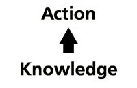 action from knowledge