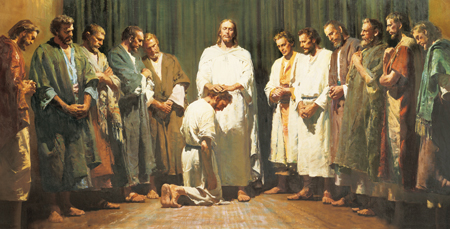 Christ Ordaining the Twelve Apostles