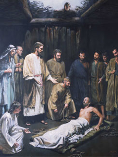 Christ Healing the Palsied Man