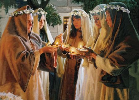 Jesuss parable of the ten virgins