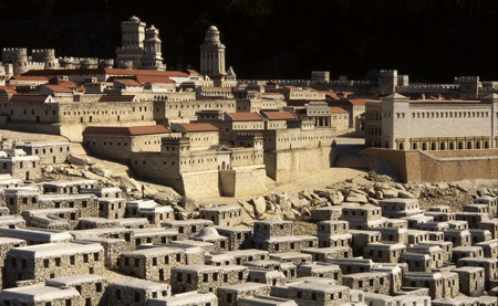 model of first-century Jerusalem