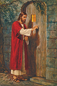 Jesus Knocking at the Door