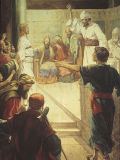 The Lord Jesus Accused before Caiaphas